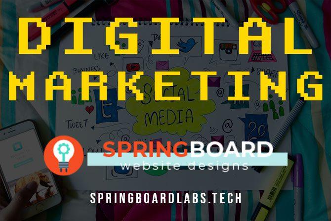 Digital Marketing Guide by Springboard Website Designs in Meridian Idaho